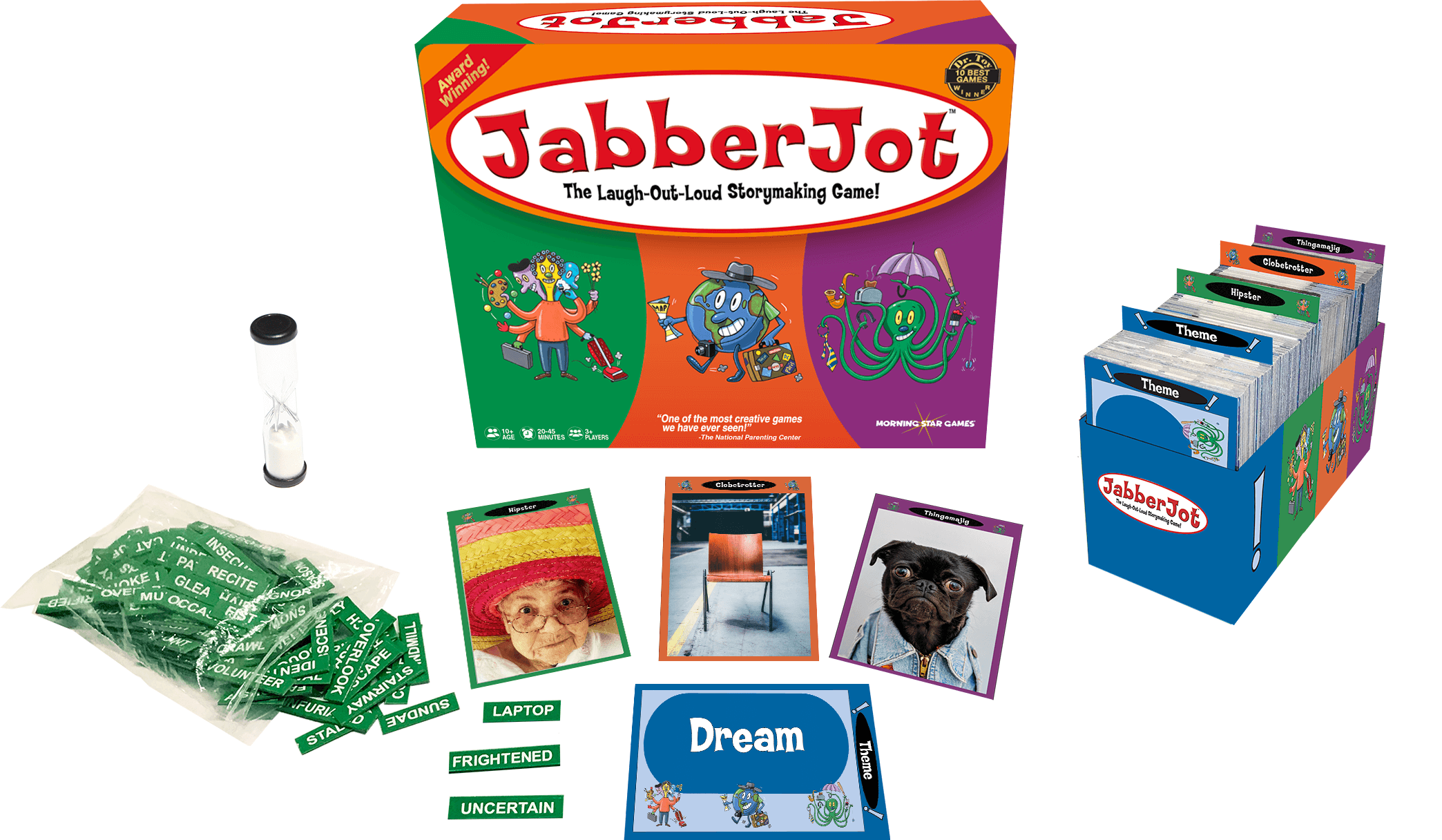 JabberJot: The Award-Winning Game Launches Kickstarter Campaign