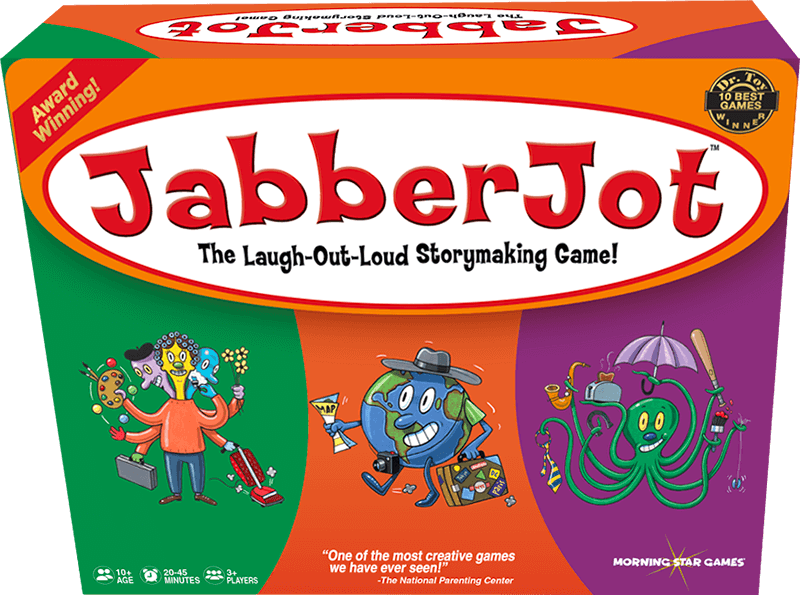 Experts Say JabberJot Game Inspires Creative Writing and Laughter